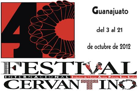 Festival Cervantino cuarenta aniversario