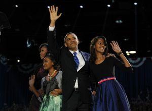 Obama gana la elección del 2012