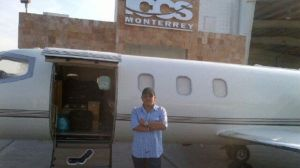 Avión en el que viajaba Jenni Rivera