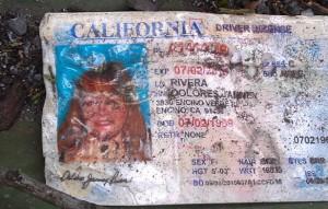 Algunos de los restos de Jenni Rivera