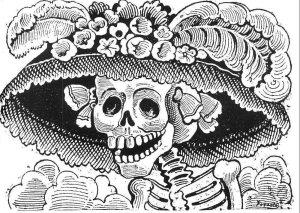 El detalle del origen de la catrina en México